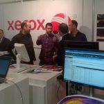 Demo de la Xerox® Versant® 80 en el evento Graphispag del 2015
