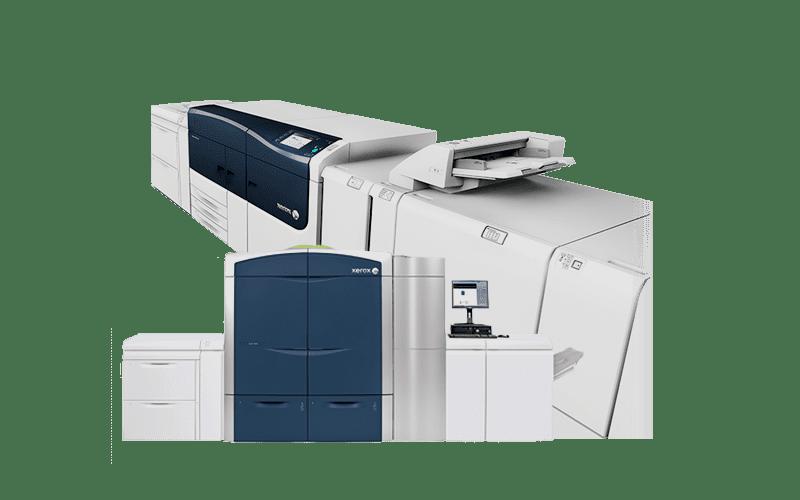 Imprentas digitales y de producción