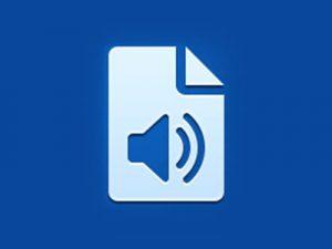 Icono aplicación documentos audio