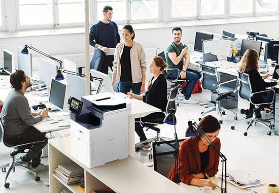 Intelligent Workplace – Impresión administrada