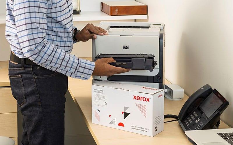 Tóner e impresora Xerox
