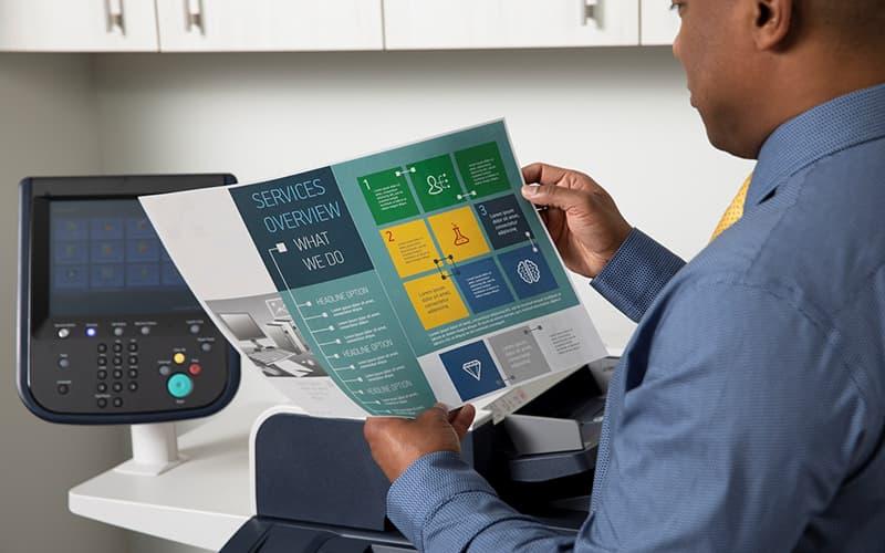 Impresión Xerox
